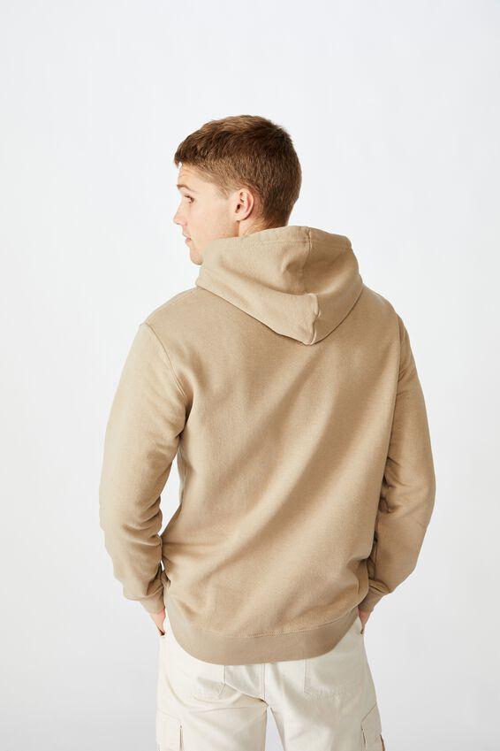 Essential Fleece Pullover, GRAVEL STONE