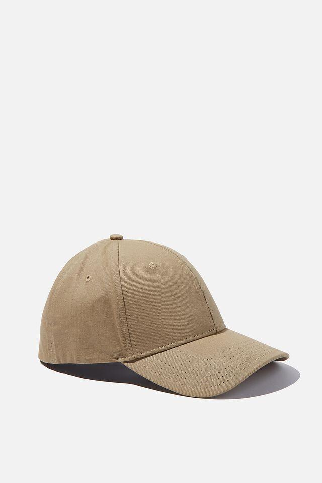 Stretch Fit Active Cap, GRAVEL STONE
