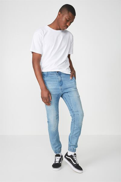 Slim Denim Jogger, COASTER BLUE