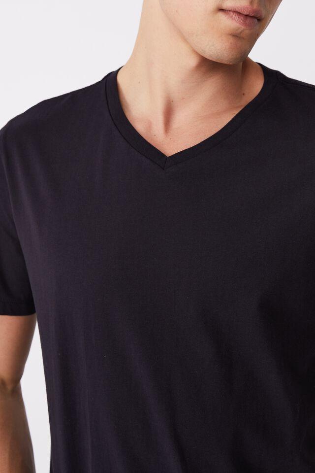 Organic V-Neck T-Shirt, INK NAVY