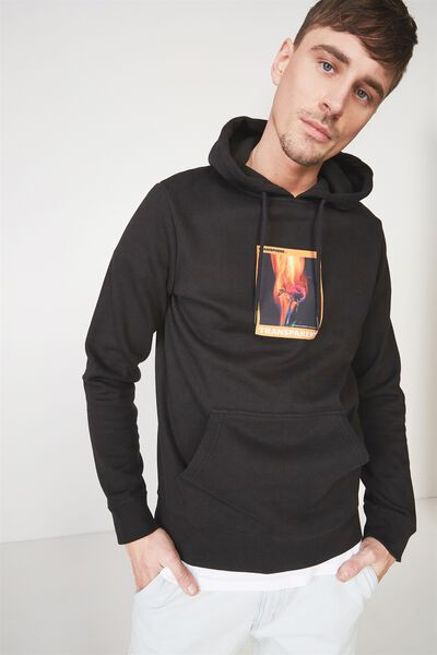 Fleece Pullover 2, BLACK/TRANSPARENT