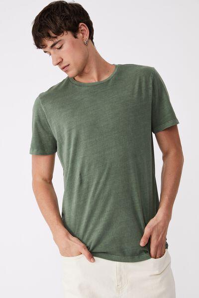 Organic Crew T-Shirt, FOREST