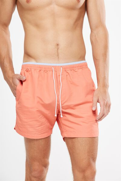 Swim Short, SUNSET ORANGE