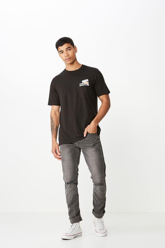 Tbar Collab Music T-Shirt, LCN APP BLACK/THE BEATLES TICKETS