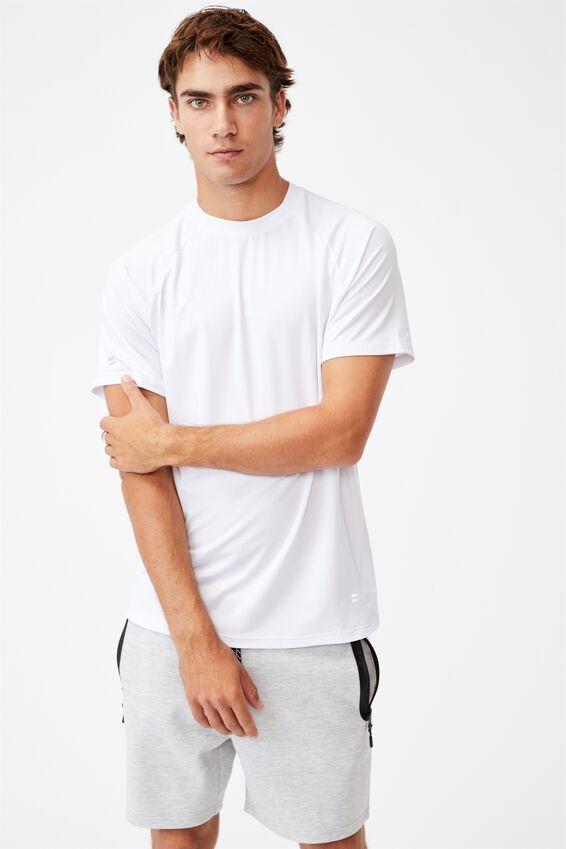 Performance Active Tech T-Shirt, WHITE