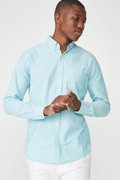 Brunswick Shirt 3, MINT OXFORD