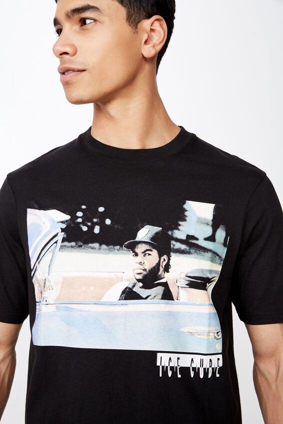 Tbar Collab Music T-Shirt, LCN SO BLACK/ICE CUBE - IMPALA