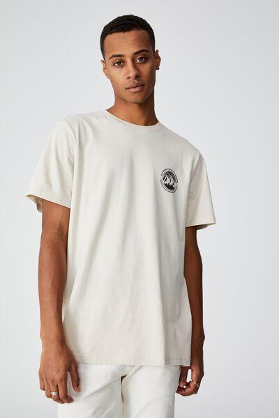 Tbar Souvenir T-Shirt, BONE/OUTDOOR QUALITY GOODS
