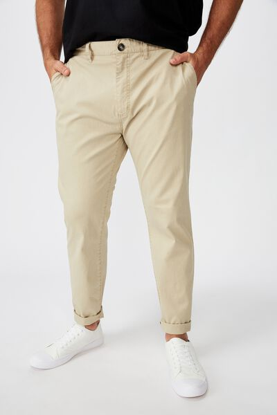 Bg Skinny Stretch Chino, WASHED STONE