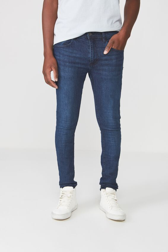Super Skinny Jean, DEEP BLUE