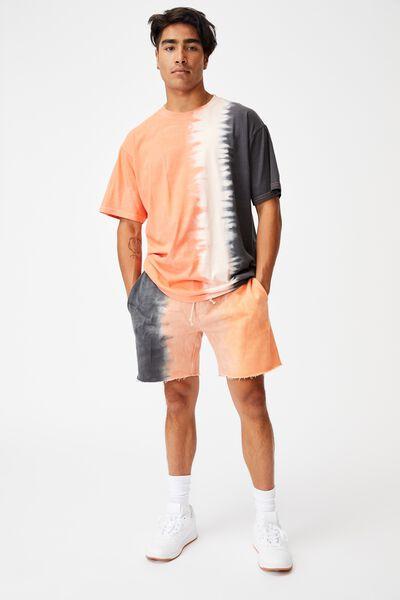 Premium Fleece Short, ORANGE DIP DYE