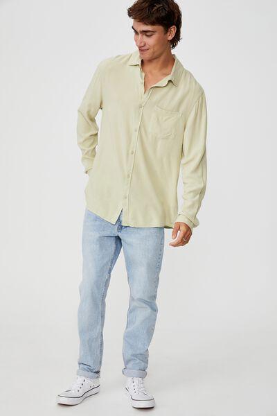 Cayman Long Sleeve Shirt, SAGE