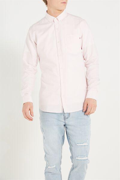 Brunswick Shirt 3, MICRO PINK STRIPE