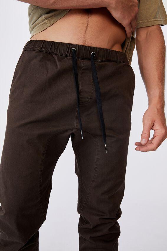 Drake Cuffed Pant, WASHED CHOCOLATE