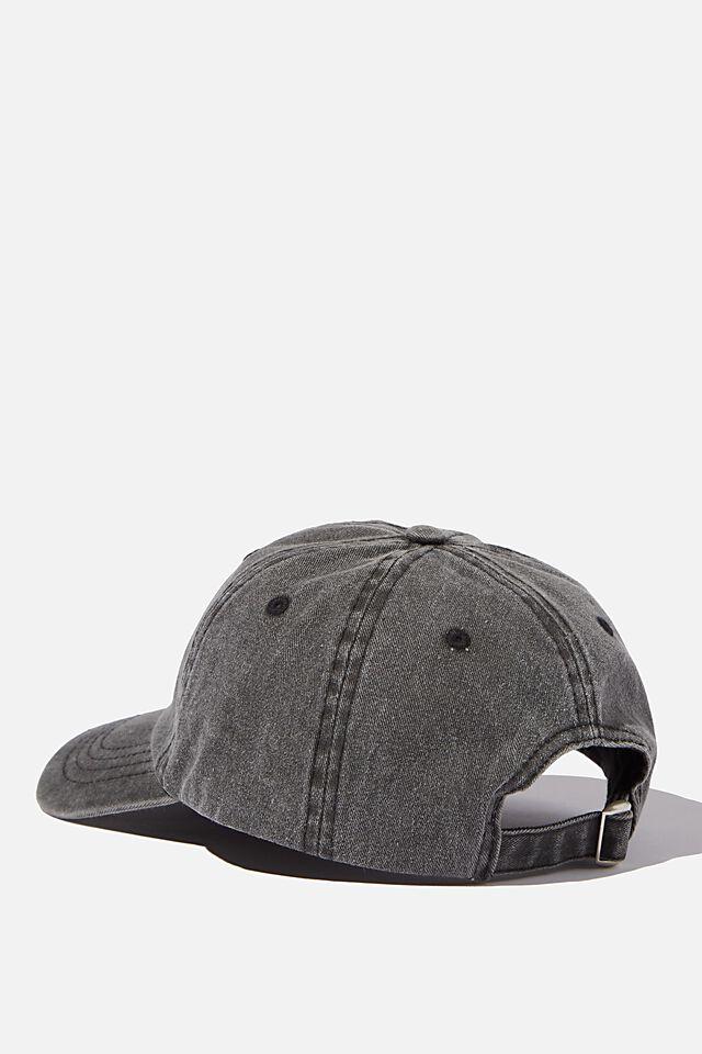 License Vintage Strap Back Cap, LCN HARVARD/BLACK