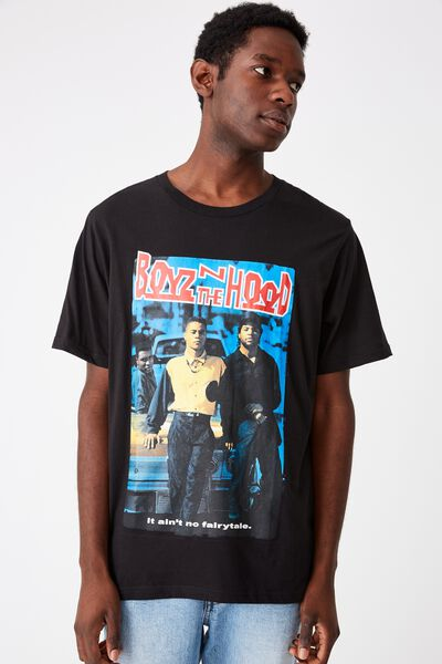 Tbar Collab Movie And Tv T-Shirt, LCN SON SK8 BLACK BOYZ IN THE HOOD - COVER
