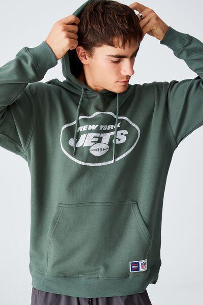 Active Nfl Oversized Pullover, LCN NFL FOREST/NEW YORK JETS VINTAGE
