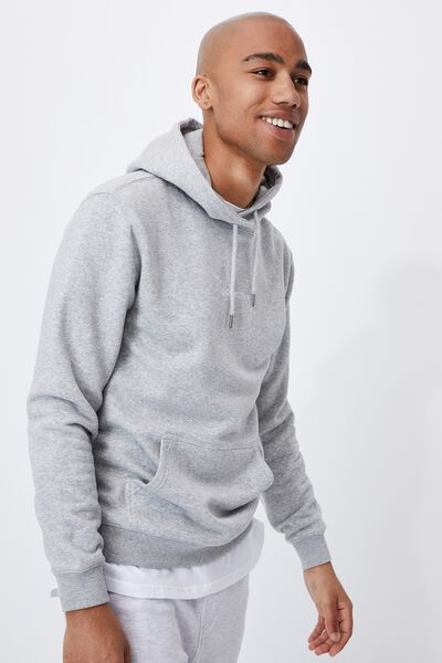 Graphic Fleece Pullover, LIGHT GREY MARLE/COLLECTIVE
