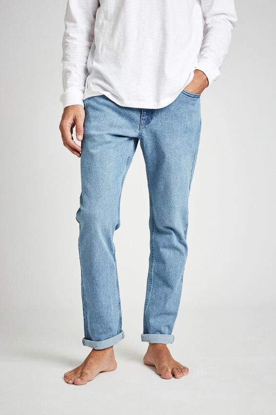 Tapered Leg Jean, WEEKDAY BLUE