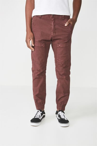 Urban Jogger, OX RED PATCH POCKET
