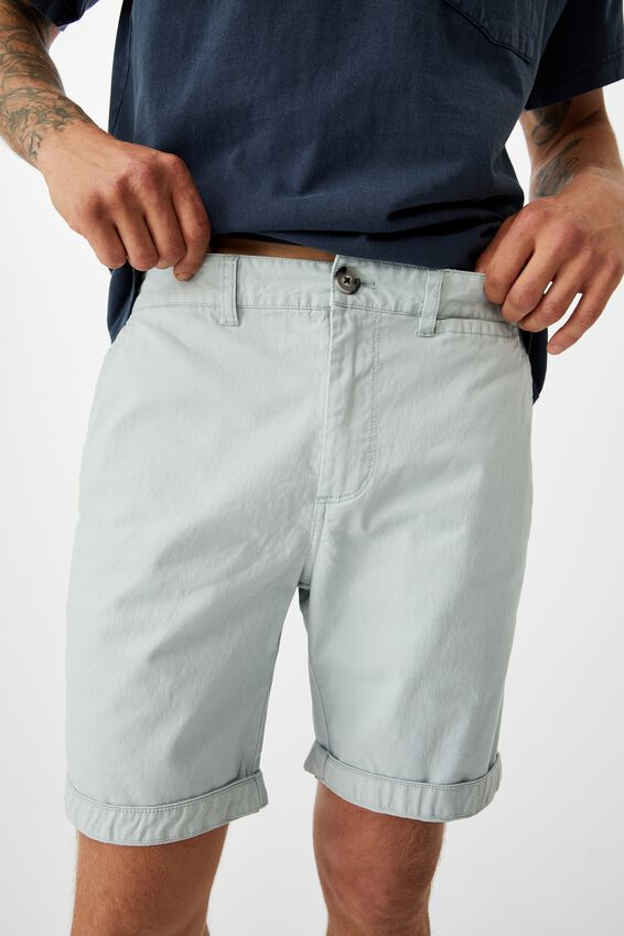 Washed Chino Short, PIGMENT LIGHT BLUE