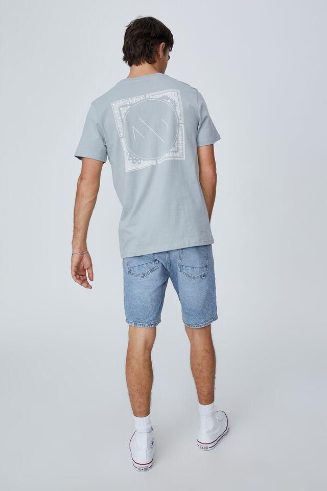 Tbar Street T-Shirt, BLUE HAZE/NY PAISLEY