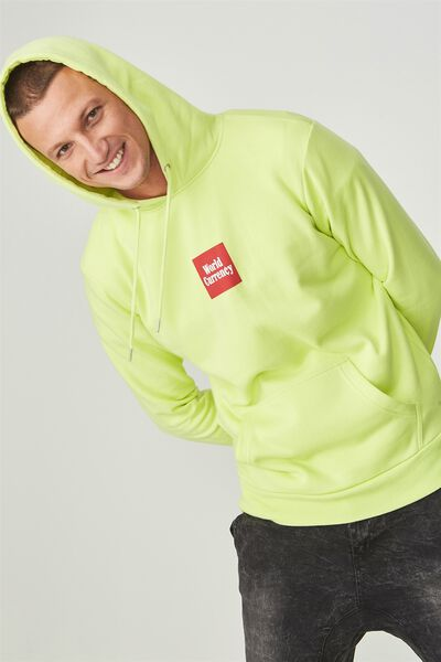 Fleece Pullover 2, CITRUS CLASH/WORLD CURRENCY