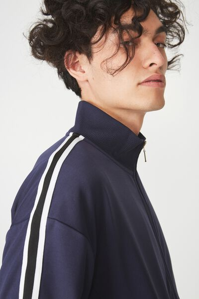 Tricot Jacket, NAVY