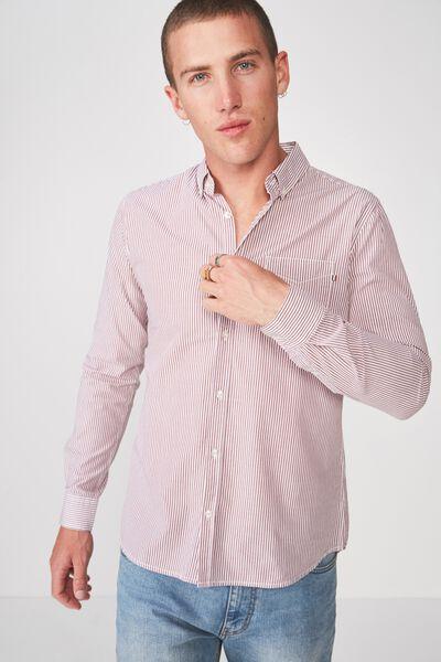 Brunswick Shirt 3, RED STRIPE