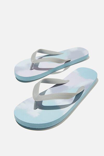 Bondi Flip Flop, DUSTY BLUE/AEROSOL