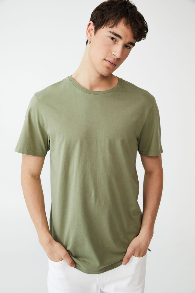 Organic Longline T-Shirt, SAGE