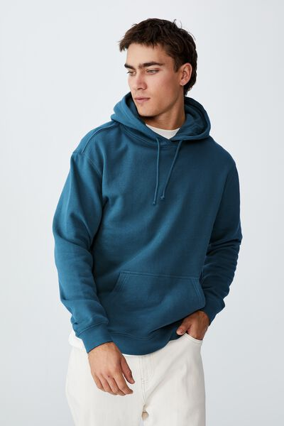 Essential Fleece Pullover, DARK TEAL