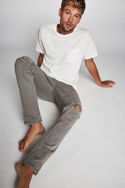 Slim Fit Jean, OVERDYE GREY UTILITY