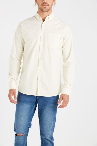 Brunswick Shirt 3, YELLOW STRIPE