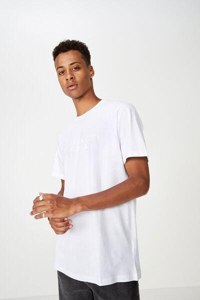 Urban T-Shirt, WHITE/NYC HUSTLE