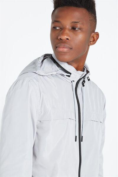 Lightweight Sports Spray Jacket, GREY