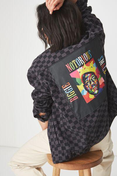 Rodeo Collaboration Jacket, BIGGIE SMALLS/CHECKA