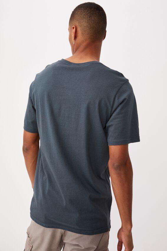 Tbar Text T-Shirt, OCEAN TEAL/WEEKEND STUDIOS SERIF