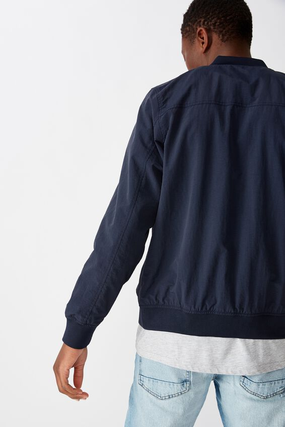 Resort Bomber Jacket, TEXTURED NAVY