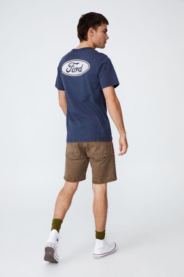 Ford T-Shirt, LCN FOR TRUE NAVY/FORD - LOGO