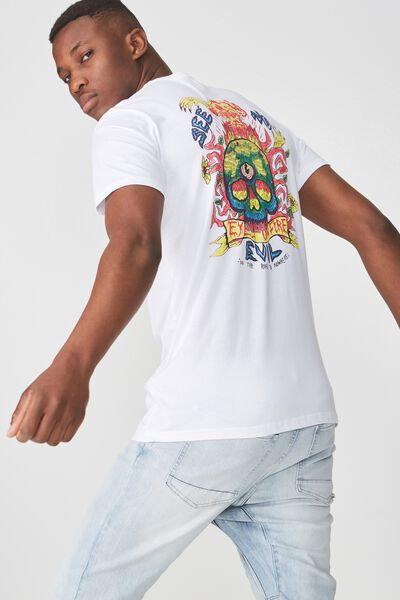 Tbar Tee 2, WHITE/SEE NO EVIL
