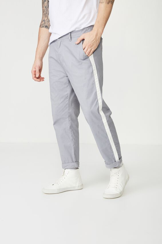 Drake Roller Pant, GREY SIDE STRIPE