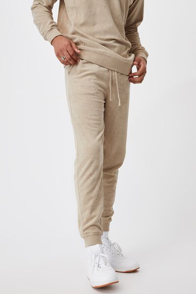 French Terry Pant, GRAVEL STONE