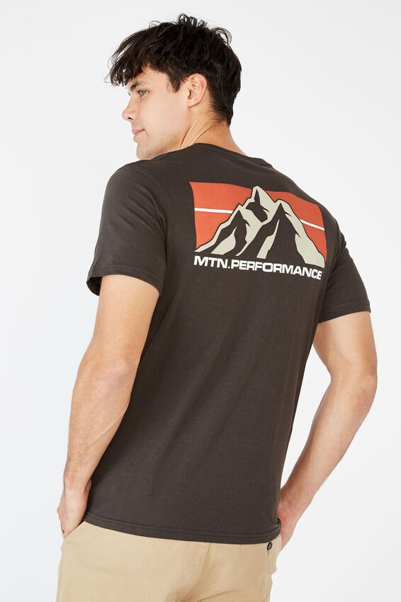 Tbar Souvenir T-Shirt, WASHED BLACK/MTN.PERFORMANCE