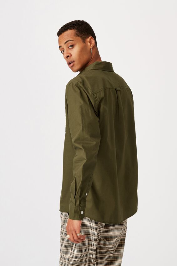 Brunswick Shirt 3, MOSS GREEN