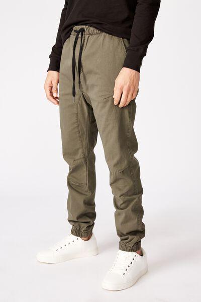Drake Cuffed Pant, WASHED OLIVE