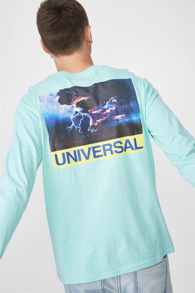 Tbar Long Sleeve, ARUBA BLUE/UNIVERSAL
