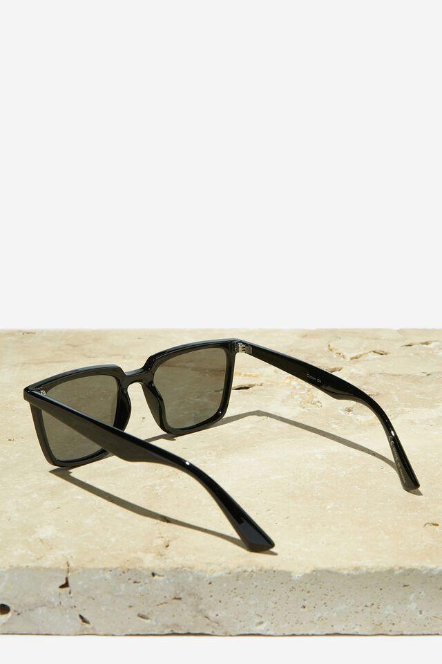 Newtown Polarized Sunglasses, BLACK