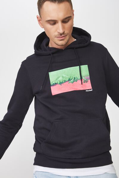 Fleece Pullover 2, INK NAVY/MOUNTAIN RANGE
