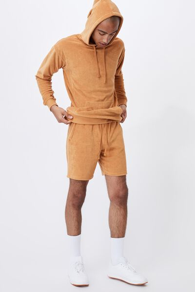 French Terry Pullover, BRONZE